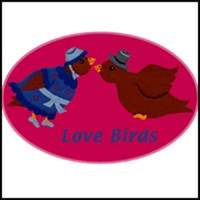 LOVEBIRDS ON T-SHIRTS & GIFTS