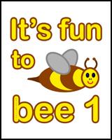 1st BIRTHDAY T-SHIRTS BEE
