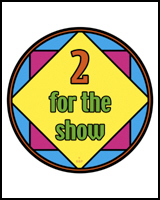 TWO FOR THE SHOW TEES