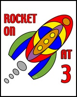 ROCKET ON AT 3 YEARS OLD