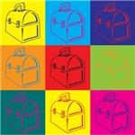 Lunchboxes Pop Art