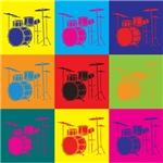 Drums Pop Art