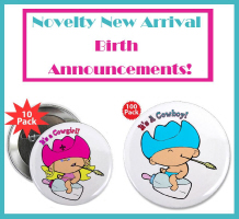 Novelty Birth Announcements