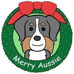Australian Shepherd Christmas Ornaments