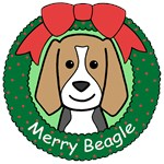 Beagle Christmas Ornaments