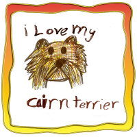 I Love my Cairn Terrier