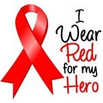I Wear Red For My Hero Heart Disease Shirts