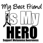 Melanoma Hero (Best Friend) T-Shirts
