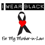 I Wear Black Ribbon For My Mother-In-Law T-Shirts