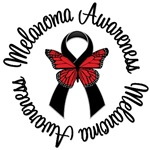Melanoma Awareness Butterfly T-Shirts & Gifts