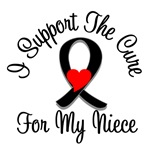 I Support The Cure Melanoma Niece Shirts & Gifts