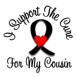 I Support The Cure Melanoma Cousin Shirts & Gifts