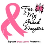 Breast Cancer For My Granddaughter Shirts & Gifts
