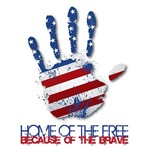 Home of the Free (Handprint Design)