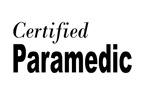 Certified Paramedic