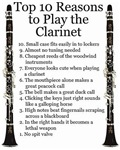 Top 10 Reasons to Play Clarinet