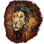 Lion Sketch Rust