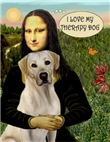 MONA LISA &<br>LABRADOR THERAPY DOG (Y)