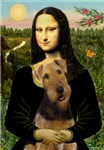 MONA LISA<br>& Airedale