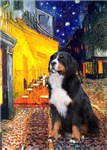 TERRACE CAFE<br>& Bernese Mountain Dog