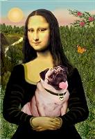 MONA LISA<br>& Fawn Pug