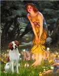 MIDSUMMER'S EVE<br>& Brittany Spaniel