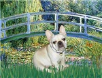 LILY POND BRIDGE<br>& Fawn French Bulldog