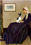 WHISTLER'S MOTHER<br>& Toy Fox Terrier