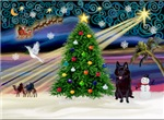 CHRISTMAS MAGIC<br>& Schipperke (#4)
