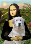 MONA LISA<br>& Golden Retriever (light)