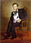 ABRAHAM LINCOLN<br>& Smooth Fox Terrier