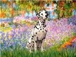GARDEN AT GIVERNEY<br>& Dalmatian