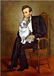ABRAHAM LINCOLN<br>& Blue Merle Welsh Corgi