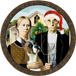 AMERICAN GOTHIC CHRISTMAS<br>& Boxer