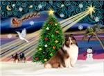 CHRISTMAS MAGIC<br>& Shetland Sheepdog (S&W)#7