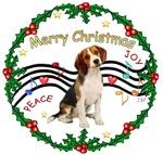 CHRISTMAS MUSIC 1MC<br>& Beagle