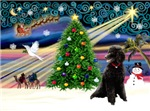 CHRISTMAS MAGIC<br>& Standard Poodle