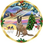 CHRISTMAS MAGIC<br>& Belgian Malinois