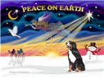 CHRISTMAS SUNRISE<br>& Bernese Mountain Dog