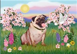 BLOSSOMS<br>& Fawn Pug #2