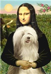 MONA LISA<br>& Bearded Collie #16