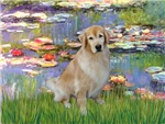 LILIES #2<br> & Golden Retriever #10