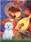Angel with Mandolin<br>With a Maltese (B)