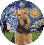 AIREDALE #1<br>in Starry Night