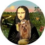 Yorkshire Terrier (#7)<br>& Mona Lisa