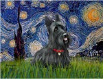 STARRY NIGHT<br>& Scottish Terrier #1