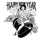 Retro New Year T-shirts & Apparel