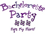 Sign My Shirt Bachelorette Party Shirts