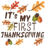 My First Thanksgiving Clothes and Gifts