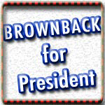Sam Brownback for President Tshirts, Buttons, Mugs